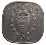 20 Centimes (Vincennes) – obverse