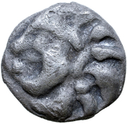Quinarius (Manching Type Group A) – obverse
