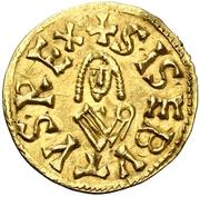 Tremissis - Sisebuto (Caesaraugusta) – obverse