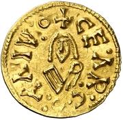 Tremissis - Sisebuto (Caesaraugusta) – reverse