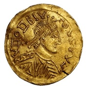 Solidus (in the name of Honorius) – obverse