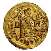 Solidus (in the name of Honorius) – reverse