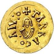 Tremissis - Gundemaro (Tarraco) – reverse