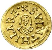 Tremissis - Suintila (Caesaraugusta) – obverse