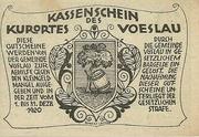 10 Heller (Vöslau) – reverse