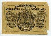 20 Heller (Vöslau) – reverse