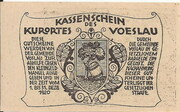 50 Heller (Vöslau) – reverse