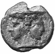 ½ As (Dolphin series) – obverse