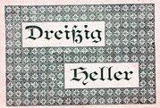 30 Heller (Vorderstoder) -  reverse
