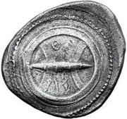 1 Didrachm (With legend) – obverse