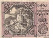 10 Heller (Wachau - St Michael) -  obverse