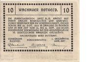 10 Heller (Wachau - St Michael) -  reverse