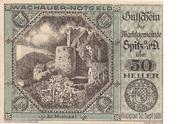 50 Heller (Wachau - St Michael) -  obverse
