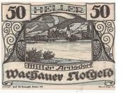 50 Heller (Wachau - Mitter Arnsdorf) -  obverse