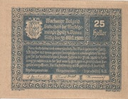 25 Heller (Wachau - Spitz) -  obverse
