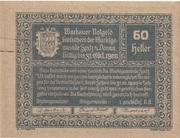 60 Heller (Wachau - Spitz) -  obverse