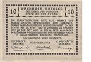 10 Heller (Wachau - Spitz) – reverse