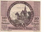 10 Heller (Wachau - Weissenkirchen) -  obverse