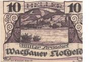 10 Heller (Wachau - Mitter Arnsdorf)) – obverse