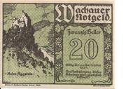 20 Heller (Wachau - Aggstein) – obverse