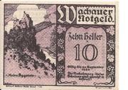 10 Heller (Wachau - Spitz an der Haftet) – obverse