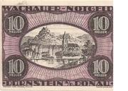 10 Heller (Wachau - Dürnstein) – obverse