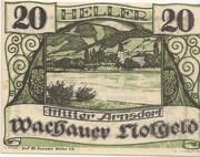 20 Heller (Wachau - Mitter Arnsdorf) -  obverse