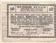 10 Heller (Wachau - Aggstein) – reverse