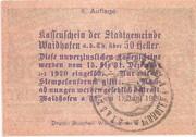 50 Heller (Waidhofen an der Thaya) – reverse