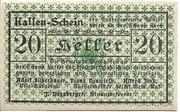 20 Heller (Waidhofen an der Thaya) – obverse