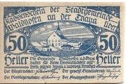 50 Heller (Waidhofen an der Thaya) – obverse