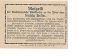 50 Heller (Waidhofen an der Ybbs) – reverse