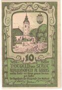 10 Heller (Waidhofen an der Ybbs) – obverse