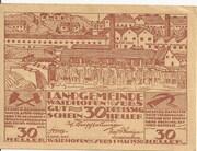 30 Heller (Waidhofen an der Ybbs) -  obverse