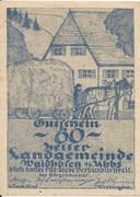 60 Heller (Waidhofen an der Ybbs) – obverse