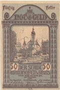 50 Heller (Waidhofen an der Ybbs) – obverse