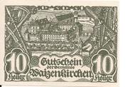 10 Heller (Waizenkirchen) -  obverse