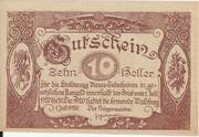 10 Heller (Waldburg) – obverse