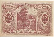 10 Heller (Waldburg) – reverse
