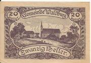 20 Heller (Waldburg) -  reverse