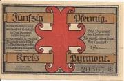 50 Pfennig (Kreis Pyrmont) -  obverse