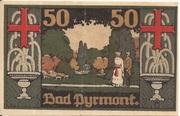 50 Pfennig (Kreis Pyrmont) -  reverse
