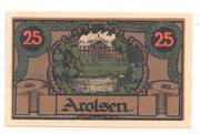 25 Pfennig (Arolsen) -  reverse