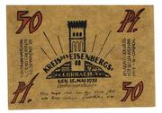 50 Pfennig (Kreis des Eisenbergs) – obverse