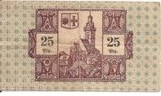 25 Pfennig (Korbach) – reverse