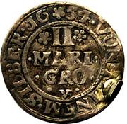 2 Mariengroschen - Georg Friedrich, Johann II and Heinrich Wolrad V – reverse