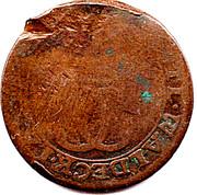 3 Pfennig - Karl August Friedrich – obverse