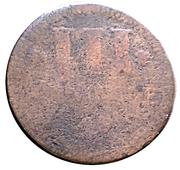 3 Pfennig - Karl August Friedrich – reverse