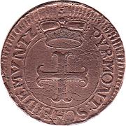 4 Pfennige - Karl August Friedrich – obverse