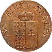 3 Pfennige - Georg Friedrich Heinrich – obverse